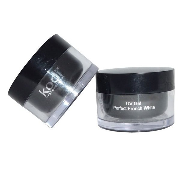 Kodi, Perfect french white UV gel (14ml.)Гели для наращивания Kodi Professional<br>Жидкий белый гель.<br>