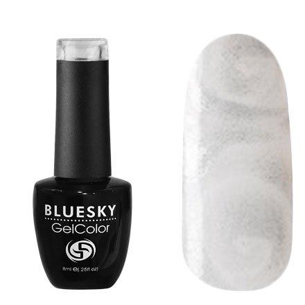 Bluesky, Гель-лак - Коллекция В №В2 (8 мл.)Bluesky 8 мл<br>Гель-лак серебро с перламутром, плотный<br>