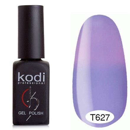 Kodi, Термо гель-лак № Т627 (8 ml)Kodi Professional <br>Гель-лаксветло-лавандовый/светлвый розово-лавандовый, без блесток и перламутра, плотный.<br>