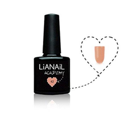 Lianail, Гель-лак Academy - Оранжево-розовый №A62 (10 мл.)Lianail<br>Гель-лакоранжево-розовый, плотный<br>