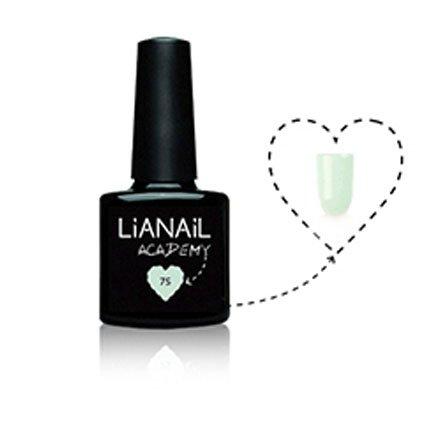 Lianail, Гель-лак Academy - Мятно-кремовый №A75 (10 мл.)Lianail<br>Гель-лакмятно-кремовый, плотный<br>