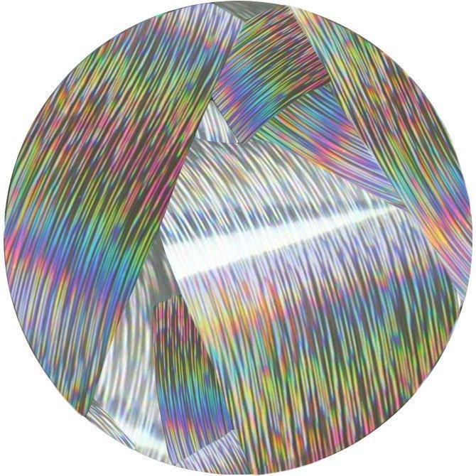 RainBird Nail, Фольга для литья - Серебро, голографик (1 м.)Фольга отрывная<br>Фольга для литья - Серебро, голографик<br>
