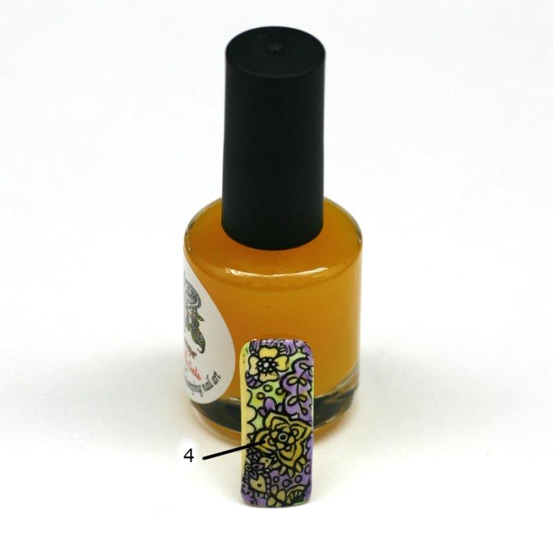 El Corazon Aquarelle tints, № 04Лаки Kaleidoscope<br>Желтый,полупрозрачнй,без блесток и перламутра.Объем 15 ml.<br>