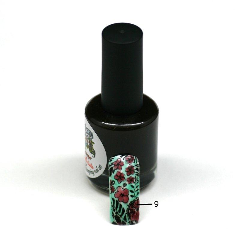 El Corazon Aquarelle tints, № 09Лаки Kaleidoscope<br>Шоколадный,полупрозрачнй,без блесток и перламутра.Объем 15 ml.<br>