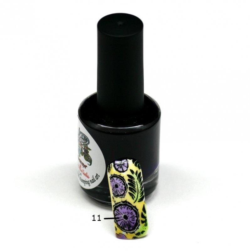 El Corazon Aquarelle tints, № 11Лаки Kaleidoscope<br>Фиолетовый,полупрозрачнй,без блесток и перламутра.Объем 15 ml.<br>