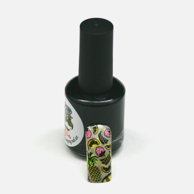 El Corazon Aquarelle tints, № 12Лаки Kaleidoscope<br>ЧЕрный,полупрозрачнй,без блесток и перламутра.Объем 15 ml.<br>
