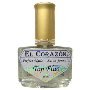 El Corazon Top Fluo, № 411Лечебный биогель El Corazon<br>Флуоресцентное верхнее покртие.15ml.<br>