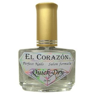 El Corazon Quick Dry, № 420Лечебный биогель El Corazon<br>Сушка-капля с летучими силиконами, верхнее покрытие. 15ml.<br>