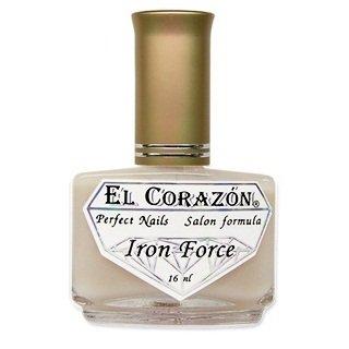 """El Corazon Iron Force, № 432Лечебный биогель El Corazon<br>Препарат """"Железная сила""""- матовый укрепитель ногтей.<br>"""