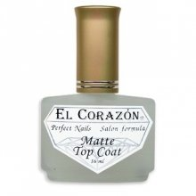El Corazon Matte Top Coat, № 430