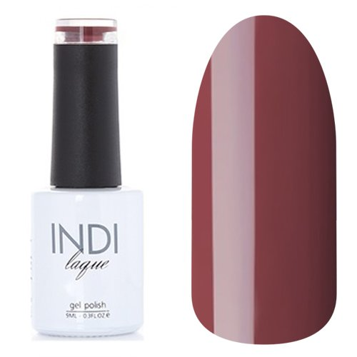 ruNail, INDI laque - Гель-лак №3092 (9 мл.)ruNail<br>Гель-лак приглушенный коричнево-бордовый, плотный<br>