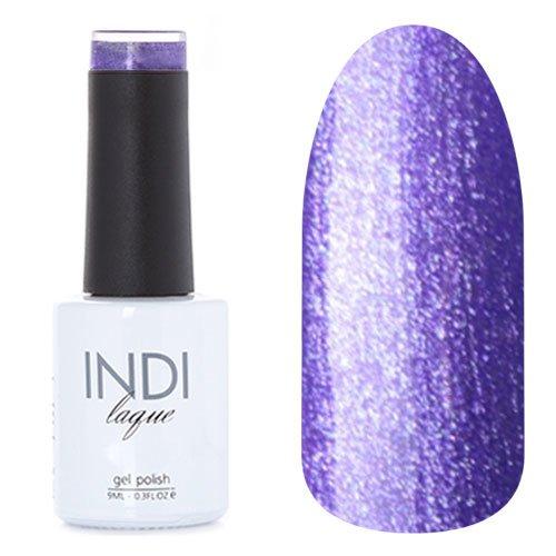 ruNail, INDI laque - Гель-лак №3097 (9 мл.)ruNail<br>Гель-лак фиолетовый, с блестками, плотный<br>