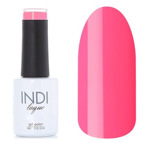 ruNail, INDI laque - Гель-лак №3065 (9 мл.)ruNail<br>Гель-лак яркий темно-розовый, плотный<br>