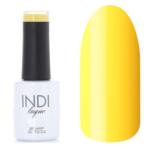 ruNail, INDI laque - Гель-лак №3076 (9 мл.)ruNail<br>Гель-лак яркий желтый, плотный<br>