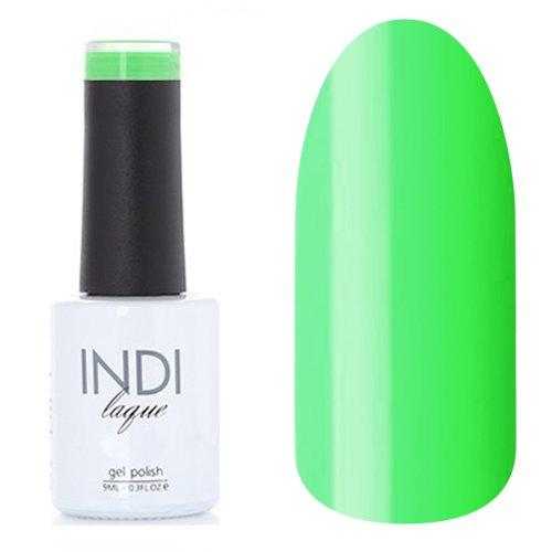 ruNail, INDI laque - Гель-лак №3077 (9 мл.)ruNail<br>Гель-лак яркий светло-зеленый, плотный<br>
