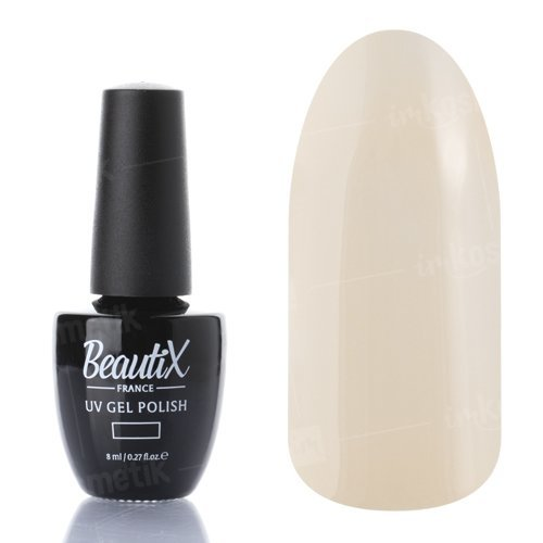 Beautix, Гель-лак №103 (8 мл.)Beautix<br>Гель-лак, молочно-бежевый, глянцевый, плотный<br>