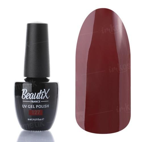 Beautix, Гель-лак №127 (8 мл.)Beautix<br>Гель-лак, коричневый, глянцевый, плотный<br>