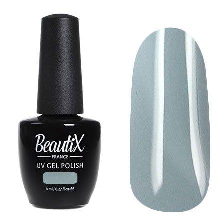 Beautix, Гель-лак №420 (8 мл.)Beautix<br>Гель-лак,серый, глянцевый, плотный<br>