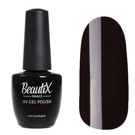Beautix, Гель-лак №619 (8 мл.)Beautix<br>Гель-лак, темный баклажан,глянцевый, без блесток и перламутра, плотный<br>