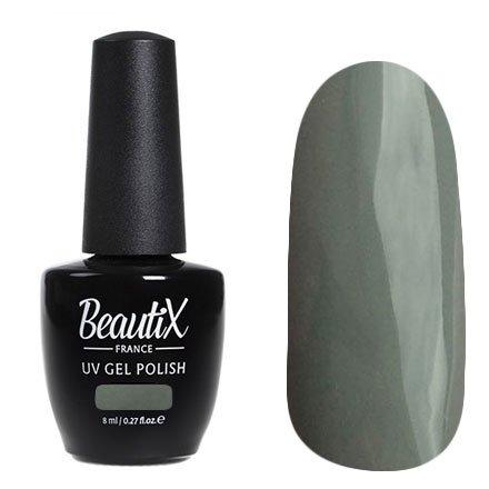 Beautix, Гель-лак №707 (8 мл.)Beautix<br>Гель-лак, серый, глянцевый, плотный<br>