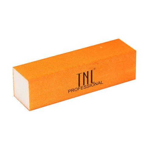 TNL, Баф (неоново оранжевый) в индивидуальной упаковке улучшенныйПолировщики и баффы<br>Шлифовщик для натуральных ногтей (неоново оранжевый), улучшенный<br>