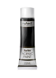 ruNail, Акриловая краска для нейл-арт (черная) 22 мл арт. 2295Акриловые краски <br>Акриловая краска идеально подходит для китайской росписи и дизайна.<br>
