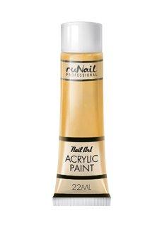 ruNail, Акриловая краска для нейл-арт (золотая) 22 мл арт. 2297Акриловые краски <br>Акриловая краска идеально подходит для китайской росписи и дизайна.<br>