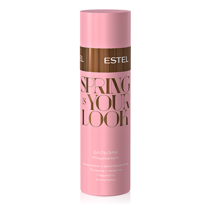 Estel, Бальзам для волос - Spring Is Your Look Balsam (200 мл.)Бальзамы и Кондиционеры<br>Восстанавливает и защищает волосы от негативного влияния токсинов.<br>