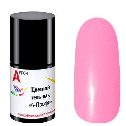 Формула Профи, Гель-лак - А-Профи Розовый №15 (5 мл. + 5 мл.)Формула Профи<br>Гель-лак, Розовыйбез блесток и перламутра, плотный<br>
