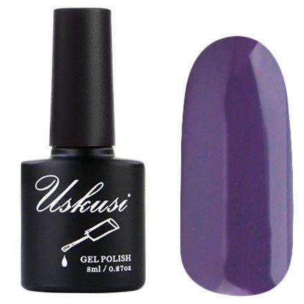 Uskusi, Гель-лак №72 (8 мл.)Uskusi<br>Гель-лак фиолетовый, без блесток и перламутра, плотный<br>