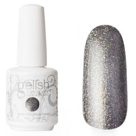 01428 Showstopping Harmony GelishHarmony Gelish<br>Cеребряно-графитовый, состоит из мелких блесток, плотный<br>