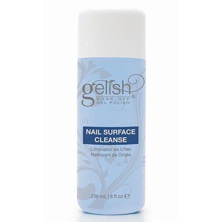 Harmony Gelish, Жидкость для удаления липкого слоя 236млHarmony Gelish<br>Nail surface cleanse. Жидкость для снятия липкого слоя и подготовки ногтевой пластины (236мл)<br>