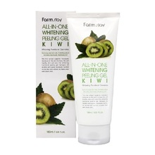 FarmStay, All-In-One Whitening Peeling Gel Cream Kiwi - Пилинг-гель c экстрактом киви (180 мл.)