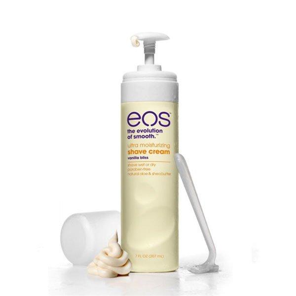 EOS, Крем для бритья Vanilla Bliss (207 мл.)Лосьоны и крема EOS<br>Не пенящийся крем для бритья Vanilla Bliss.<br>