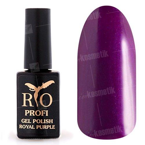Rio Profi, Гель-лак Royal Purple - Королевский Пурпур №06 (7 мл.)Rio Profi<br>Гель-лак пурпурный, с перламутром, плотный<br>