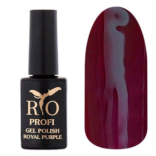 Rio Profi, Гель-лак Royal Purple - Царская Слива №09 (7 мл.)Rio Profi<br>Гель-лак насыщенный сливовый, глянцевый, плотный<br>