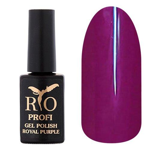 Rio Profi, Гель-лак Royal Purple - Заморский Кулон №10 (7 мл.)Rio Profi<br>Гель-лак слива, глянцевый, плотный<br>