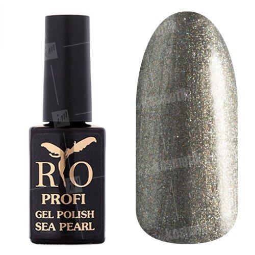 Rio Profi, Гель-лак Sea Pearl - Летучий Корабль №12 (7 мл.)Rio Profi<br>Гель-лак мокрый асфальт, с микроблеском, плотный<br>