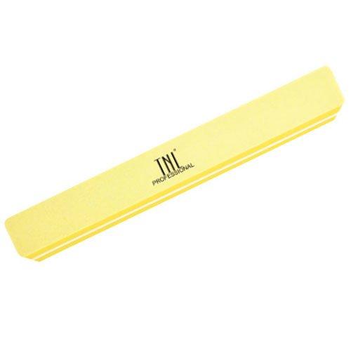 TNL, Шлифовщик широкий, улучшенное качество, в индивидуальной упаковке (желтый) 180/220Полировщики и баффы<br>Полировщик предназначен для полировки как натуральных, так и искусственных ногтей.<br>