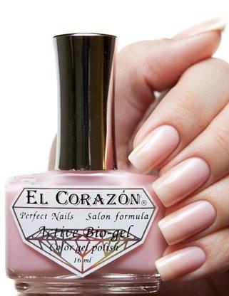 El Corazon Active Bio-gel Jelly, № 423-52Лечебный биогель El Corazon<br>Био-гель пастельного розово оттенка,без блесток и перламутра, полупрозрачный. Объем 16 ml.<br>