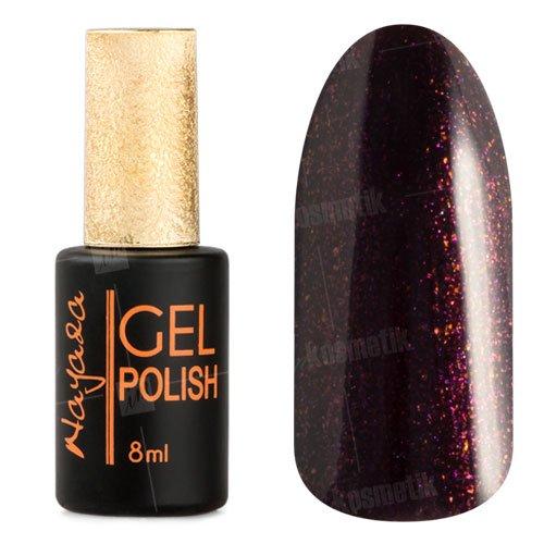 Nayada, Гель-лак №330 (8 мл.)Nayada<br>Гель-лак черный, с фиолетовыми блестками, плотный.<br>