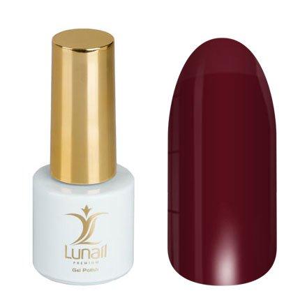 Lunail, Гель-лак - Осенний вечер L4 (6 ml.)Lunail<br>Гель-лак бордо, глянцевый, плотный.<br>