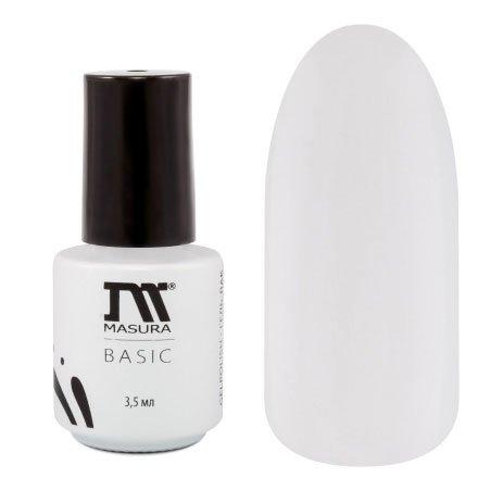 Masura, Гель-лак - Basic №294-67 Облачко Счастья (3,5 мл.)Masura Basic<br>Гель-лак молочно-белый, без блесток и перламутра, полупрозрачный.<br>