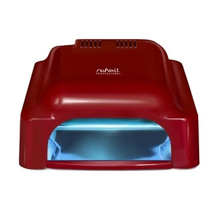 ruNail, УФ-лампа 36 Ватт RU 912 (красная)УФ-Лампы<br>Лампа для полимеризации любых гелей и уф-материалов. Со встроенным таймером.<br>