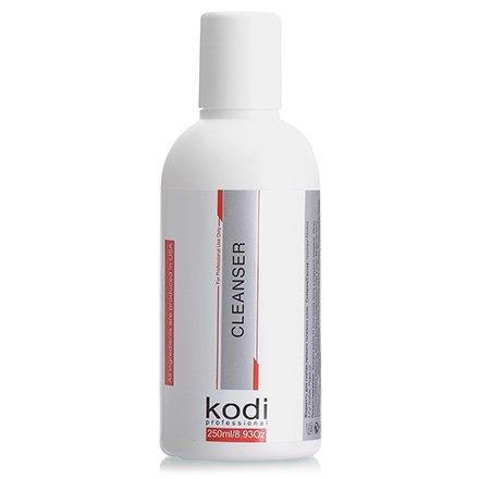 Kodi, Cleanser - Жидкость для снятия липкого слоя (250ml)Kodi Professional <br>Жидкость для снятия липкого слоя, 250 мл.<br>