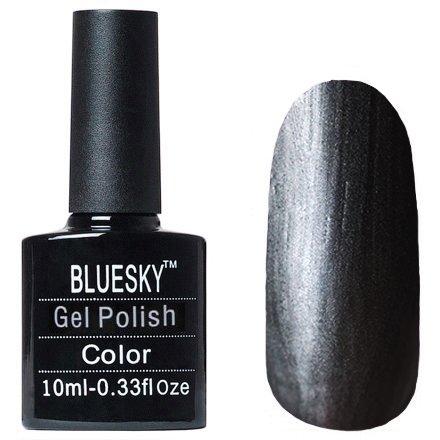Bluesky, Gel Polish МT03Bluesky 10 мл<br>Гель-лак с металлическим эффектомчерный оттенок, плотный.<br>