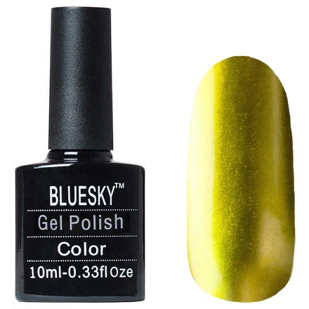 Bluesky Gel Polish, МT11Bluesky 10 мл<br>Гель-лак с металлическим эффектом золотой оттенок, плотный.<br>