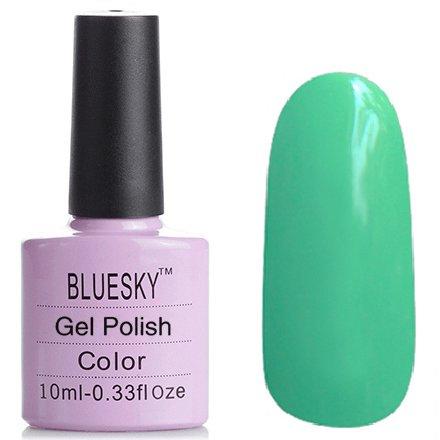 Bluesky Шеллак, цвет №047Bluesky 10 мл<br>Гель-лак мятный, плотный.<br>