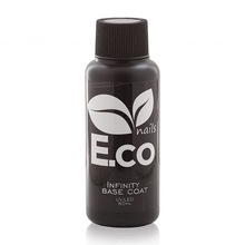 E.Co Nails, Базовое покрытие каучуковое Infinity Base Coat (80 мл)