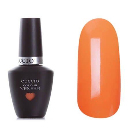 Cuccio Veneer, цвет № 6157 Very Sherbert 13 mlCuccio Veneer<br>Гель-лакпастельный морковный, без блесток и перламутра, плотный.<br>